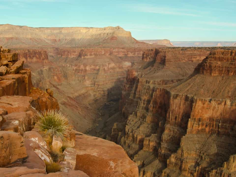 Grand Canyon view from Adventure Time Tours