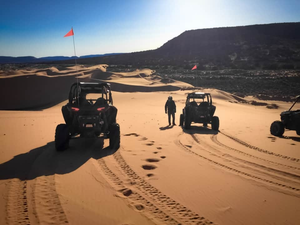 RZR's on the Coral Pink Sand Dunes