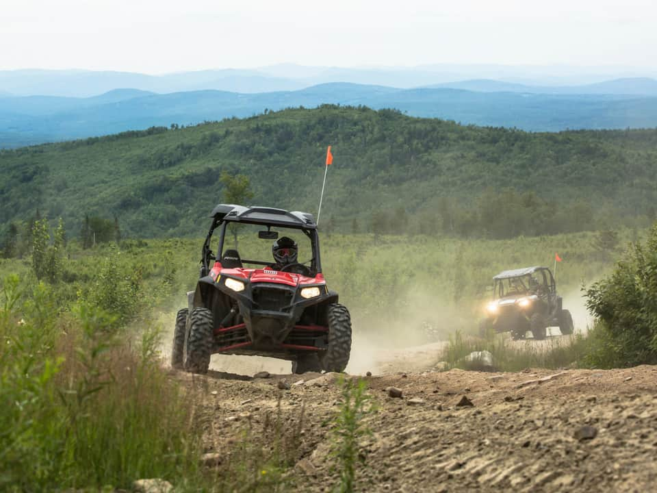 View of Northeast with RZR's