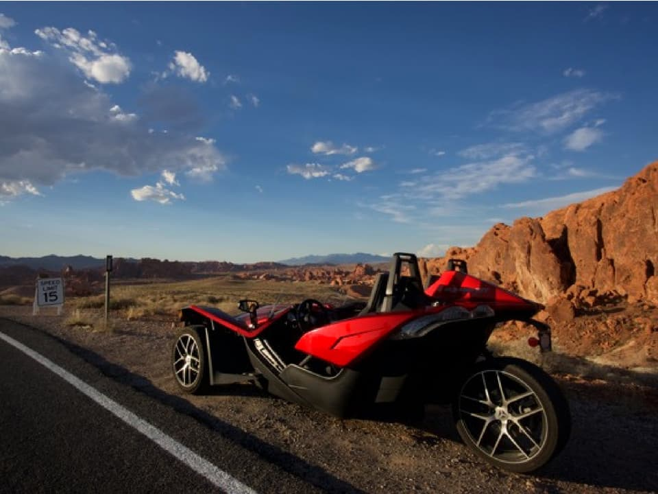 Slingshot at Red Rock Canyon