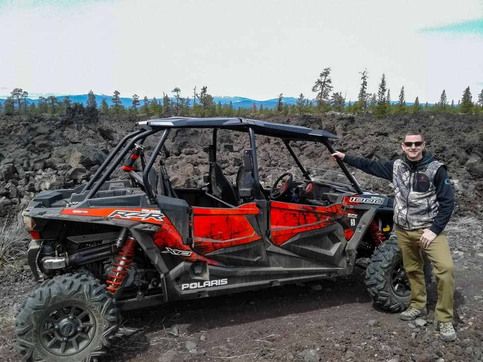 RZR in the high desert