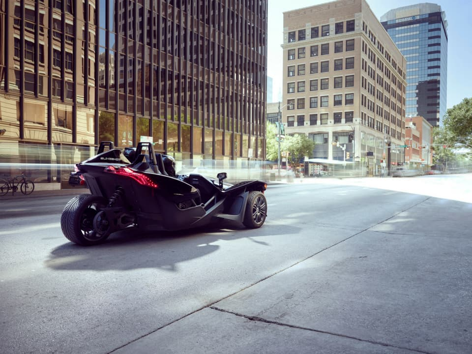 Slingshot on the road in Chicago