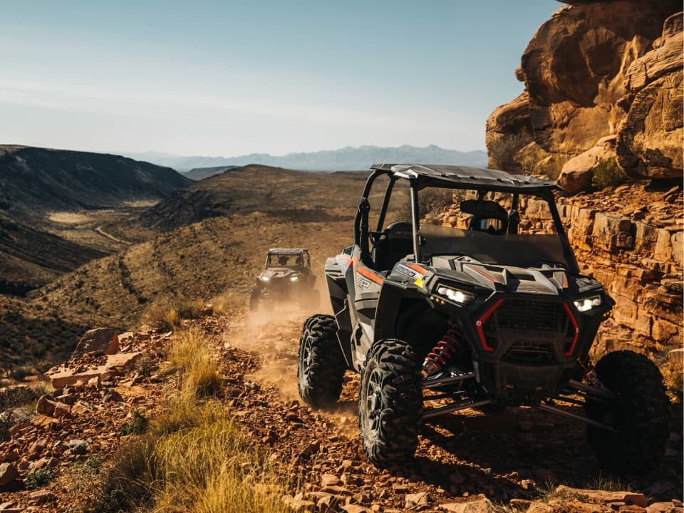 RZRs at the Grand Canyon