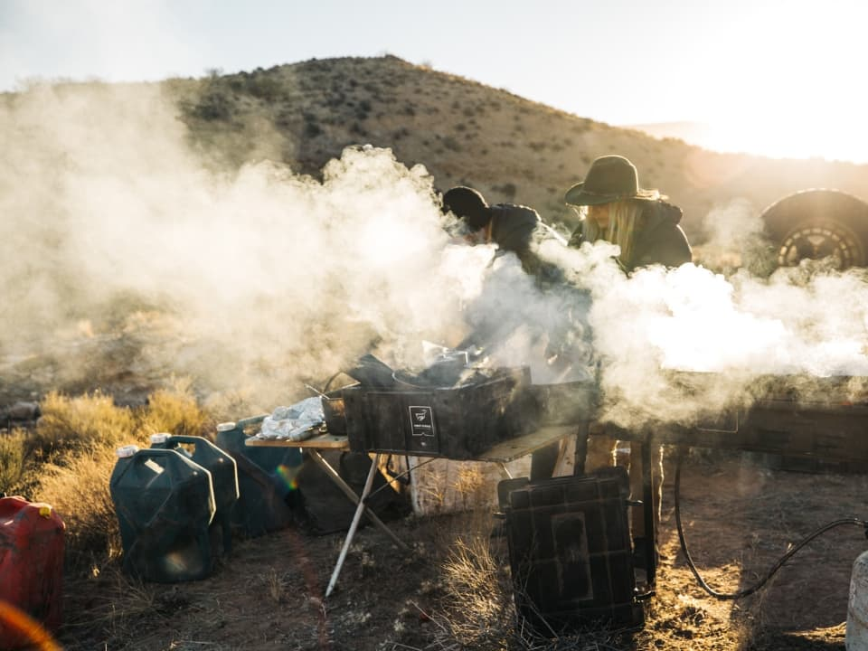 Meals during 4 Day Grand Canyon Tour with Wilderness Collective