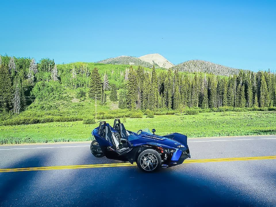 Slingshot on the road at CSR