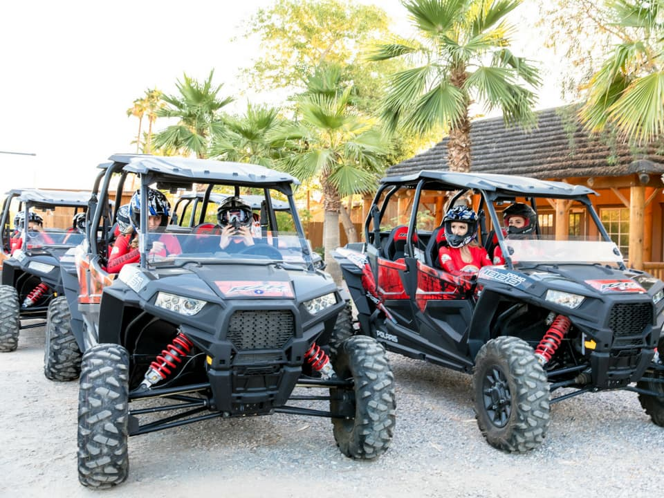 Guests about to go on their RZR Adventure