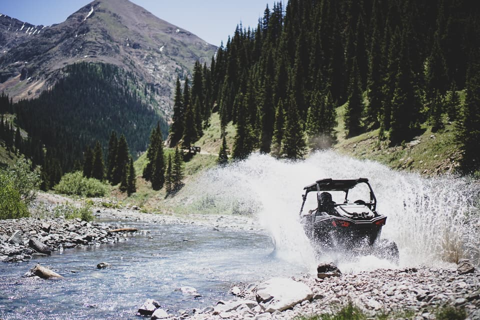 Making a splash with a RZR