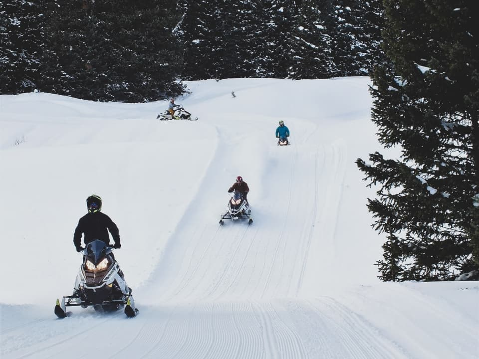 Guests on the trails at Silverton, CO