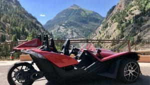 Slingshot on the Million Dollar Highway