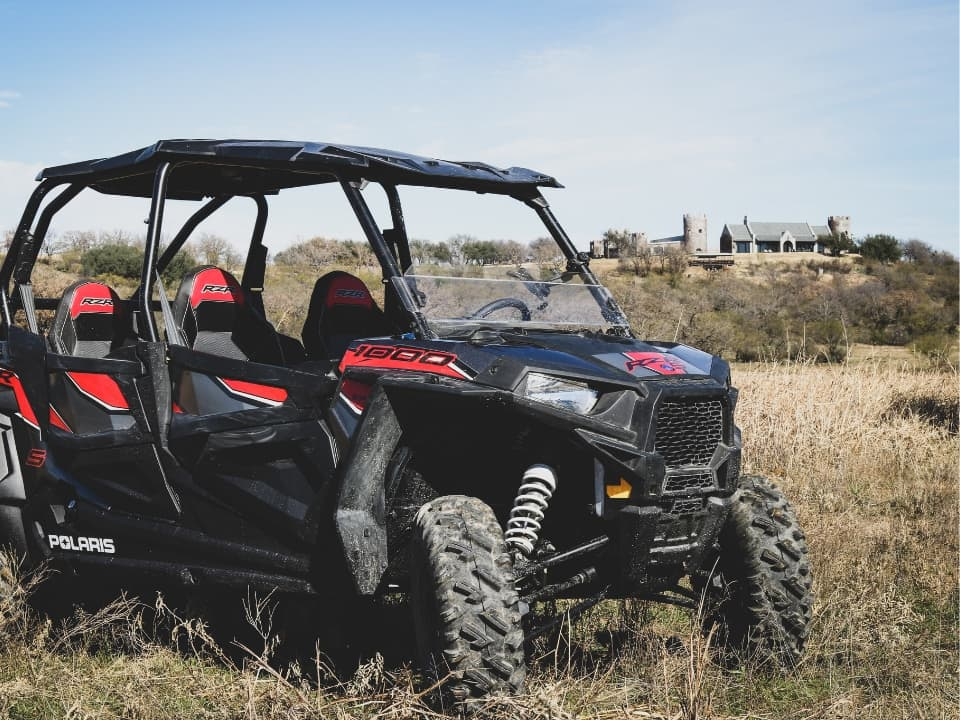RZR 1000 at Greystone Castle
