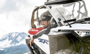 guest sitting in a Polaris RZR PRO XP