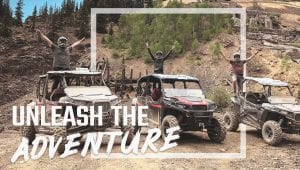 Polaris Adventures Unleash the Adventures Campagin