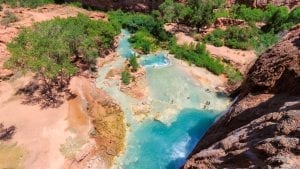 hot springs in the Grand Canyon